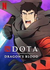 Search netflix DOTA: Dragon's Blood
